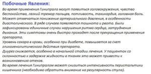 ginipral-pobochnyie-yavleniya